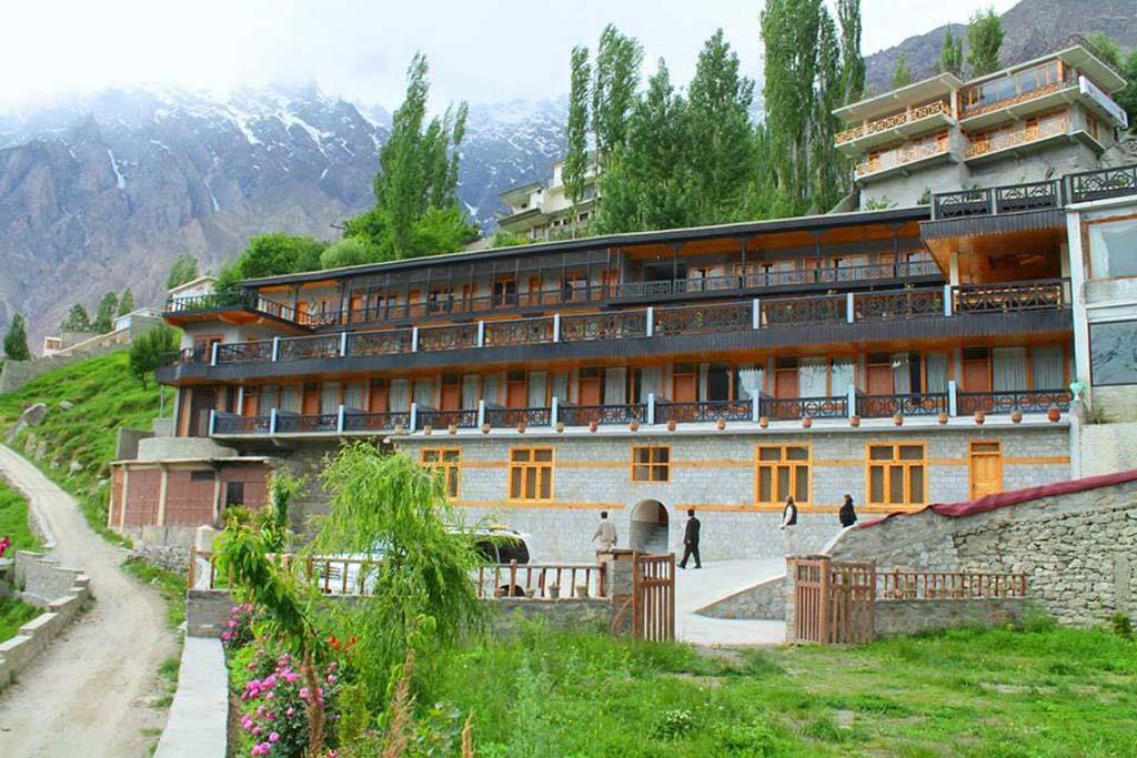 Hunza Embassy Hotel Apricot Tours Pakistan